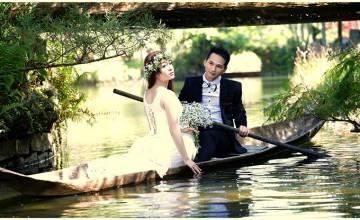 Phong cách chụp ảnh cưới ngoại cảnh