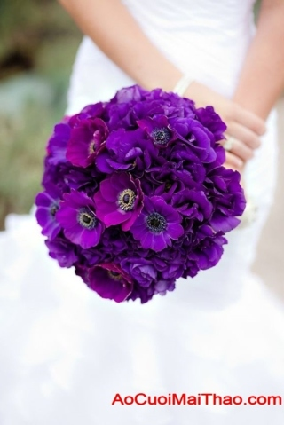 hoa cuoi cam tay