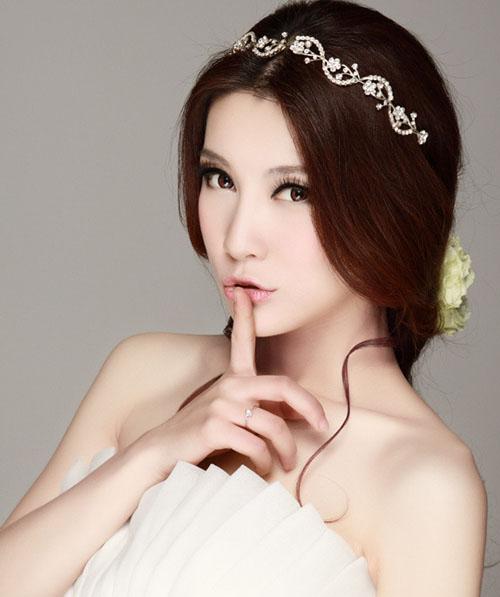 Dep-hut-hon-voi-kieu-toc-co-dau-Han-Quoc-0-1389148128