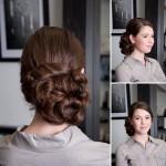 Kiểu tóc búi hoa yêu kiều cho cô dâu của dịch vụ rửa ảnh cưới giá rẻ mang đến cho bạn.