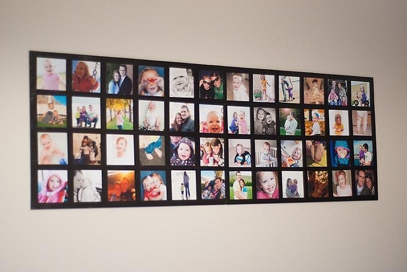 Cách trang trí ảnh Polaroid